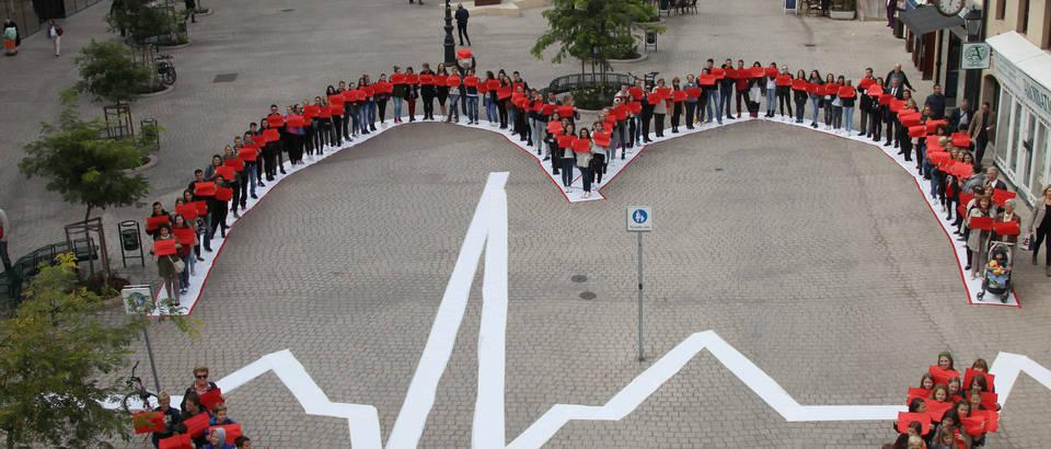 Svjetski dan srca obilježen milenijskom fotografijom