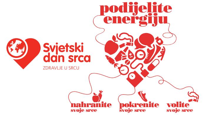 Svjetski dan srca 2017. Podijelite energiju!